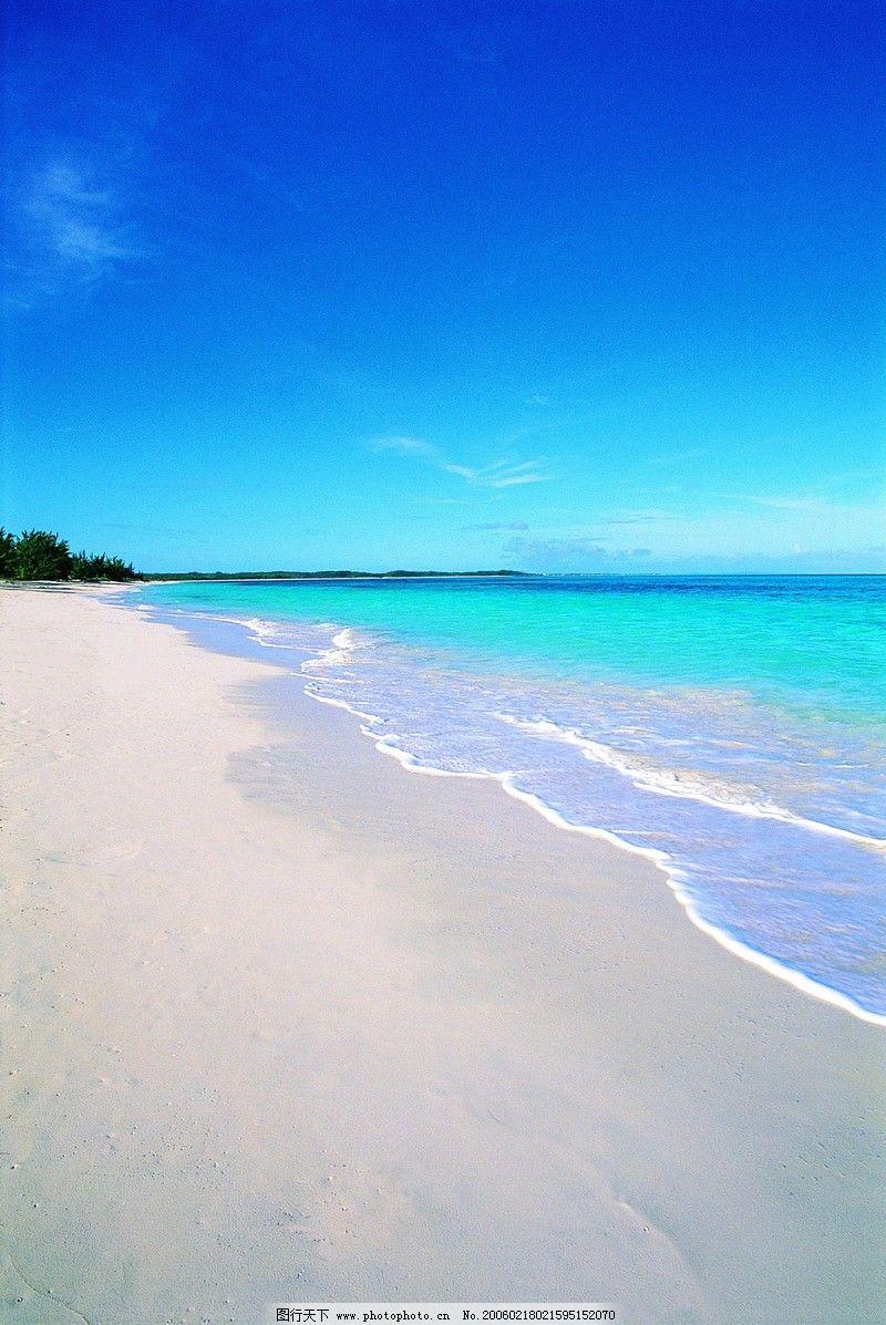 自然风景 沙滩大海