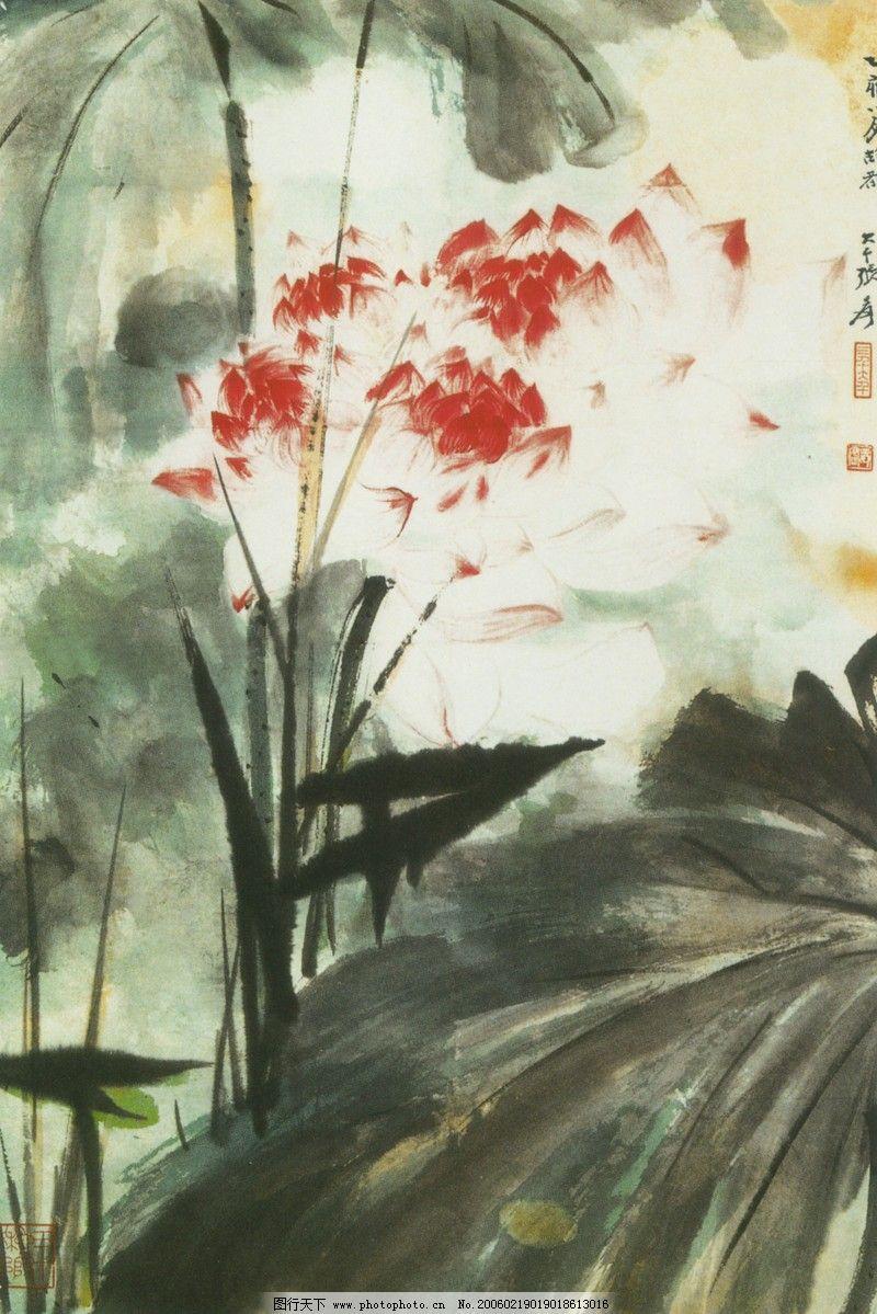 山水名画 中国现代花鸟 篇