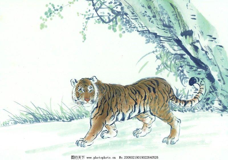 中国动物画0032_绘画书法