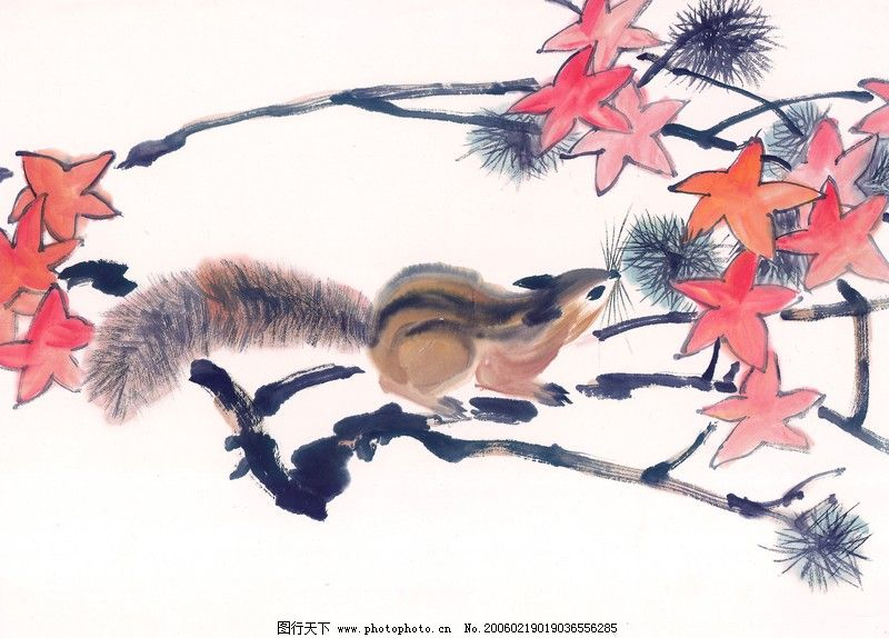 中国动物画0010