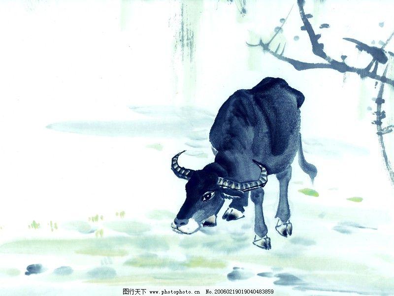 中国动物画0028_绘画书法