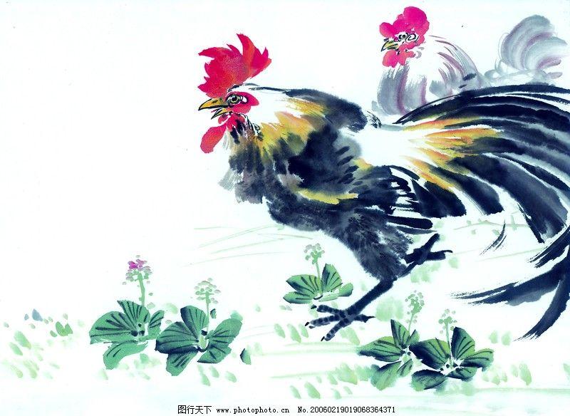 中国动物画0083_绘画书法