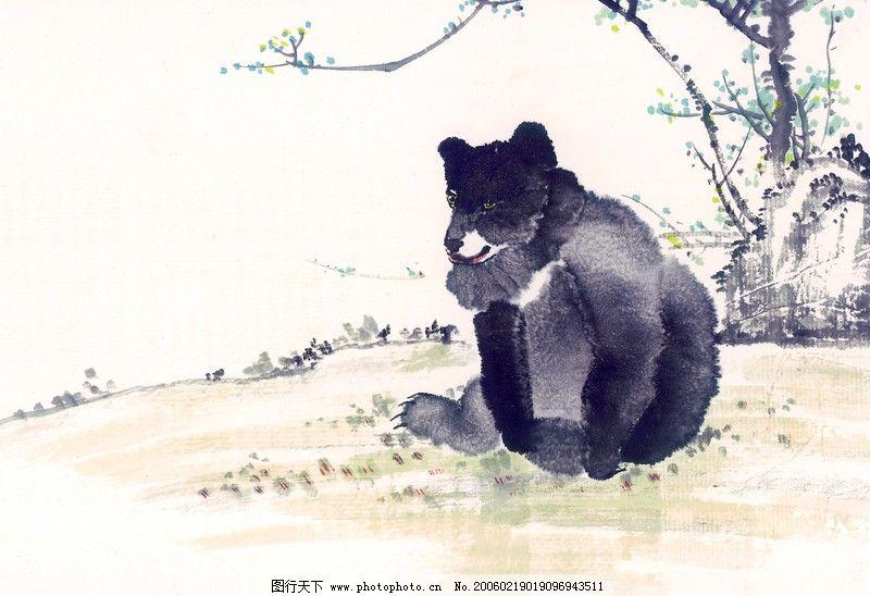 中国动物画0097_绘画书法_文化艺术_图行天下图库