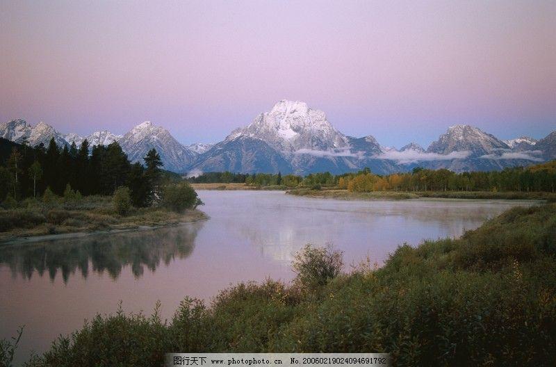 自然风景 山水剪影