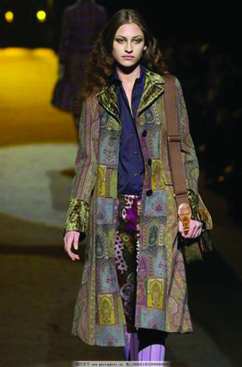 服装设计 米兰2004女装秋冬新品发布会