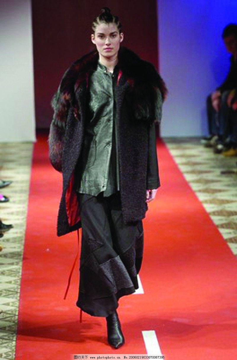 服装设计 巴黎2004男装冬季发布会