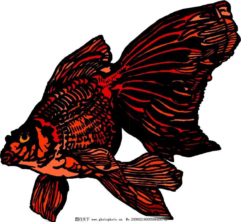 海底动物简单剪纸