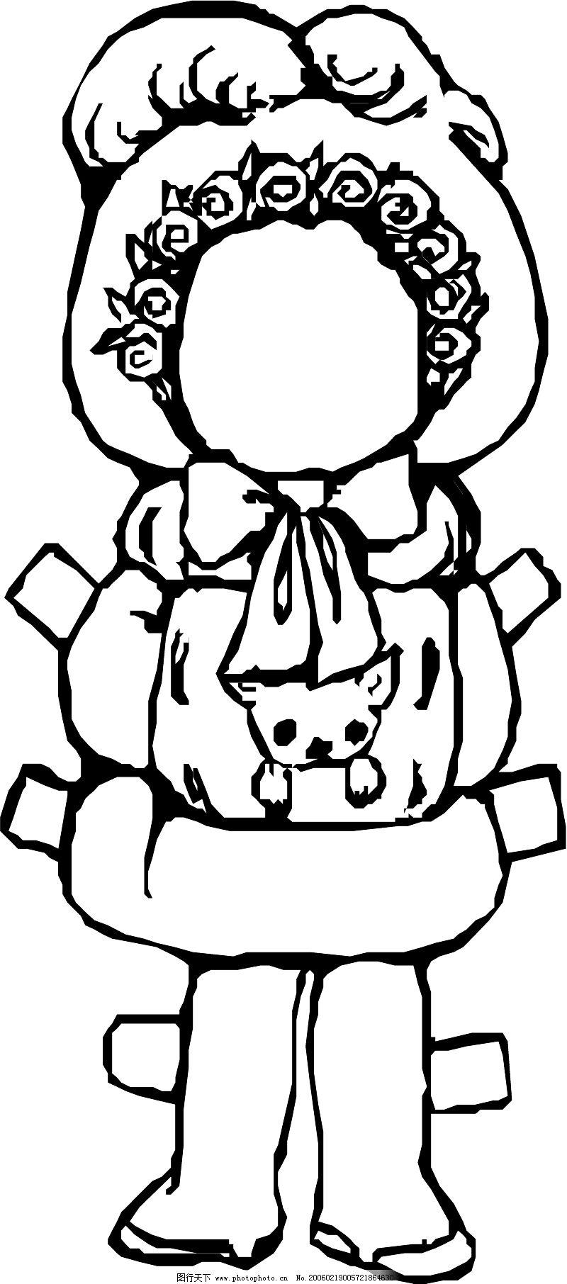 手绘简笔画玩具
