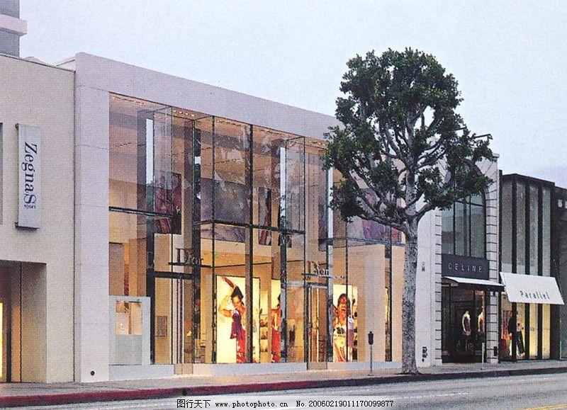 商场商店设计0080_室外设计_装饰素材_图行天下图库