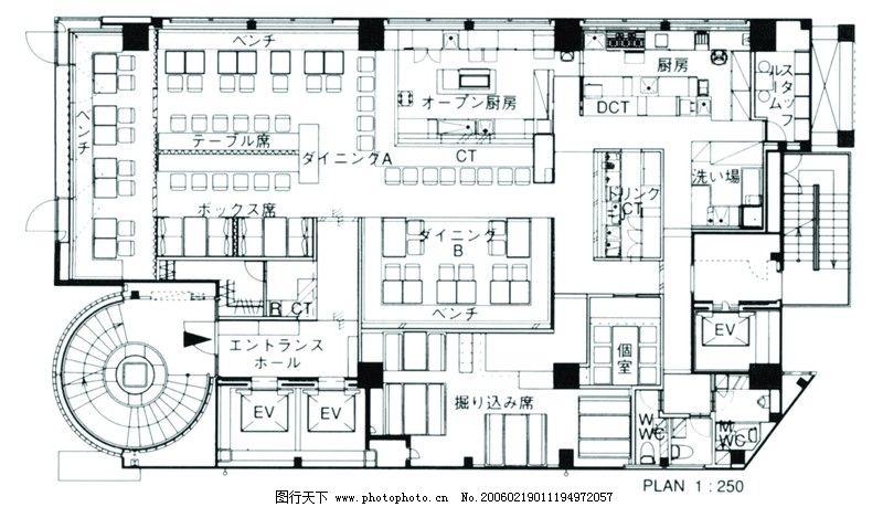 商店框架平面图