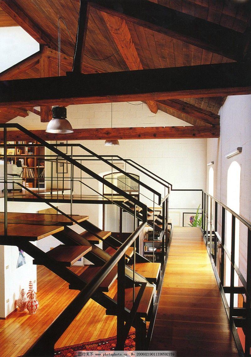 阁楼空间设计0082 阁楼楼梯