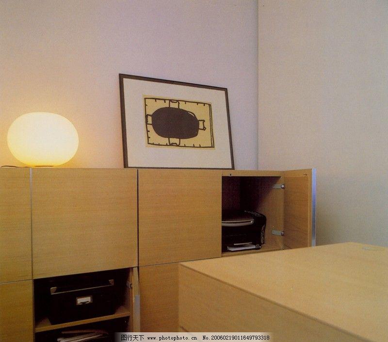 家庭办公室0110_室内装饰_装饰素材_图行天下图库