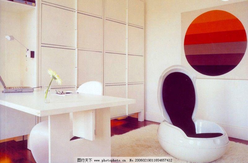 家庭办公室0147_室内装饰_装饰素材_图行天下图库