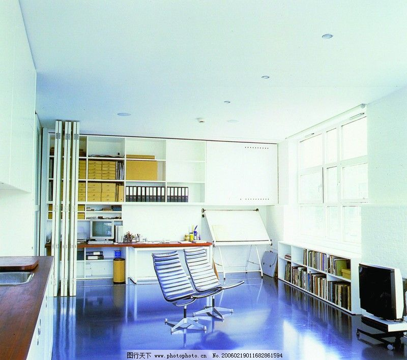 家庭办公室0051_室内装饰_装饰素材_图行天下图库