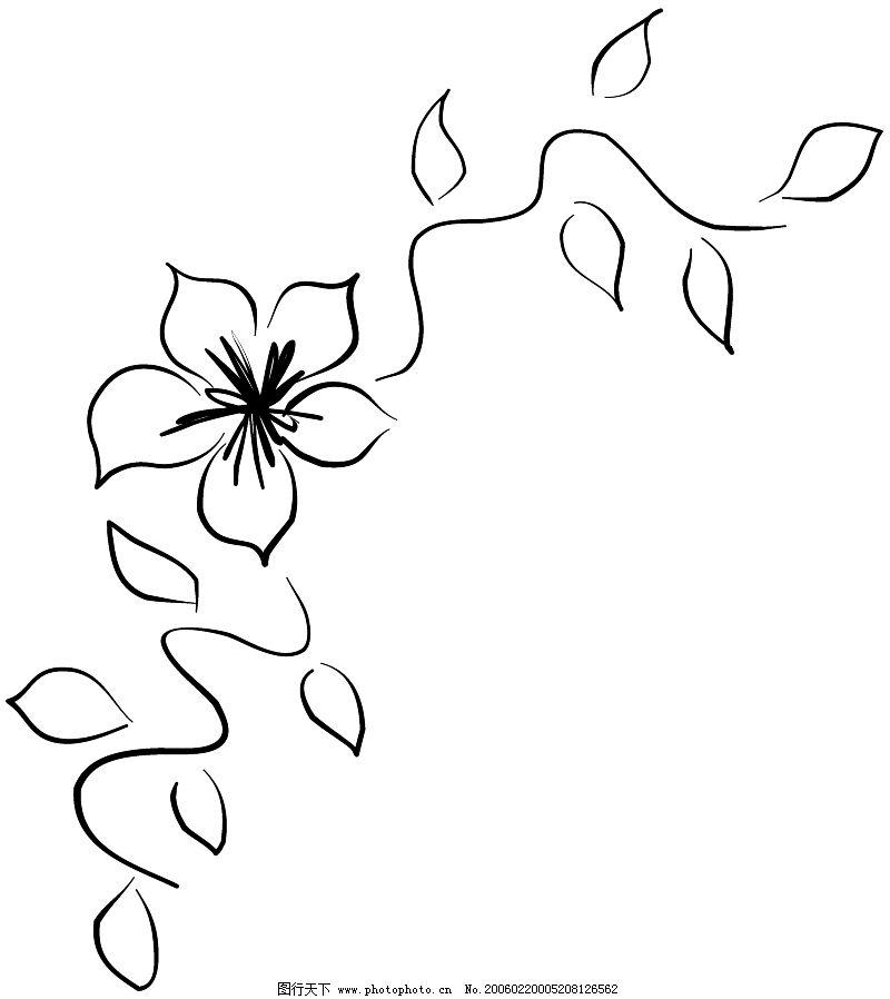 手绘页面边框艺术型