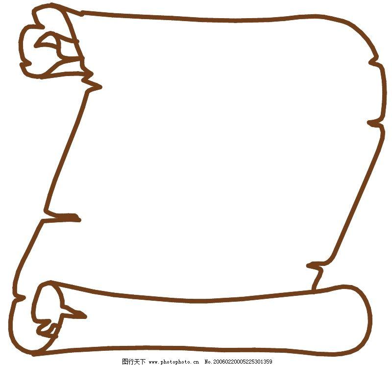 创意边框0091_花纹花边_矢量图_图行天下图库