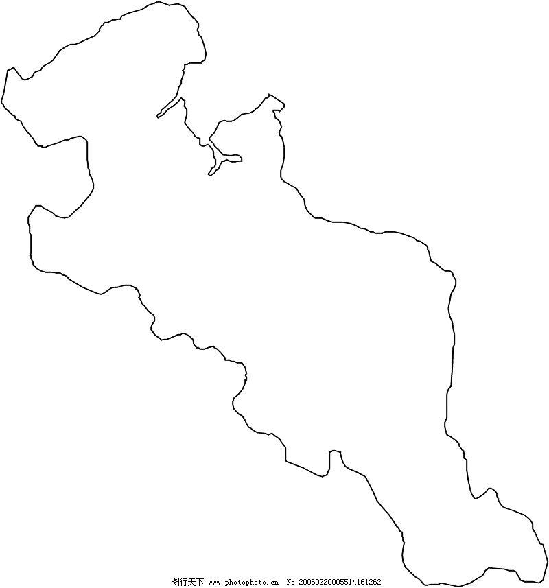 地图 简笔画 手绘 线稿 800_857