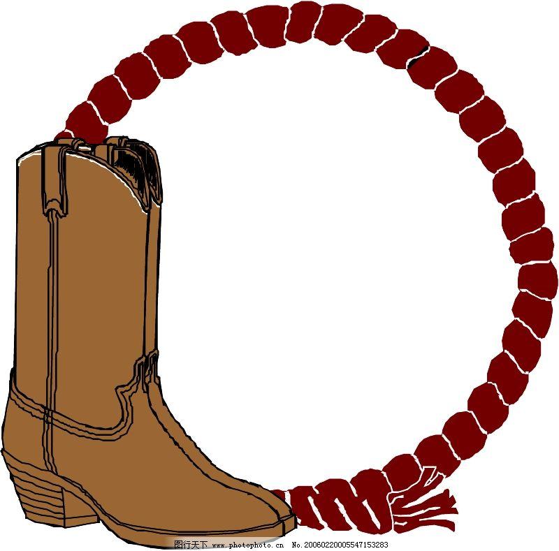 衣鞋帽0836_其他_矢量图_图行天下图库