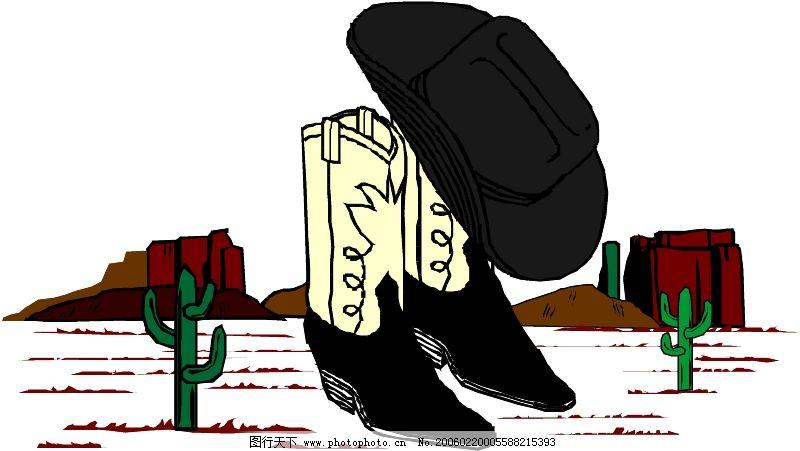 衣鞋帽0843_其他_矢量图_图行天下图库