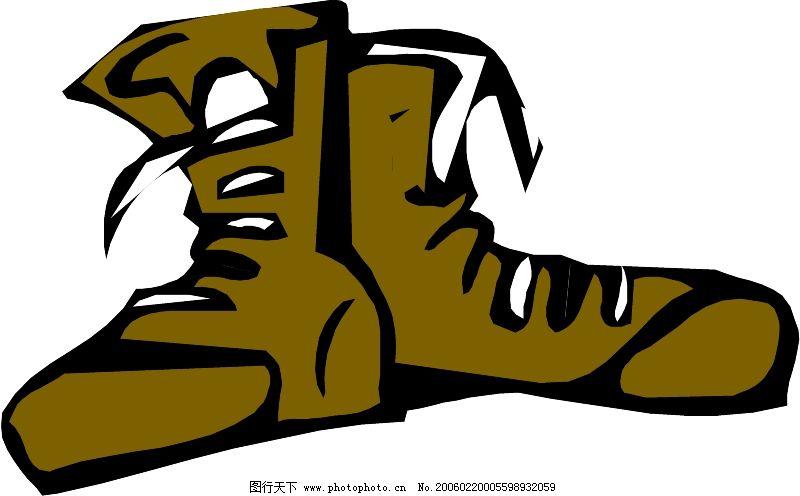 衣鞋帽0190_其他_矢量图_图行天下图库