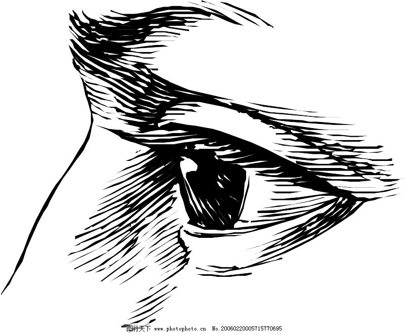 眼睛简笔画图片大全
