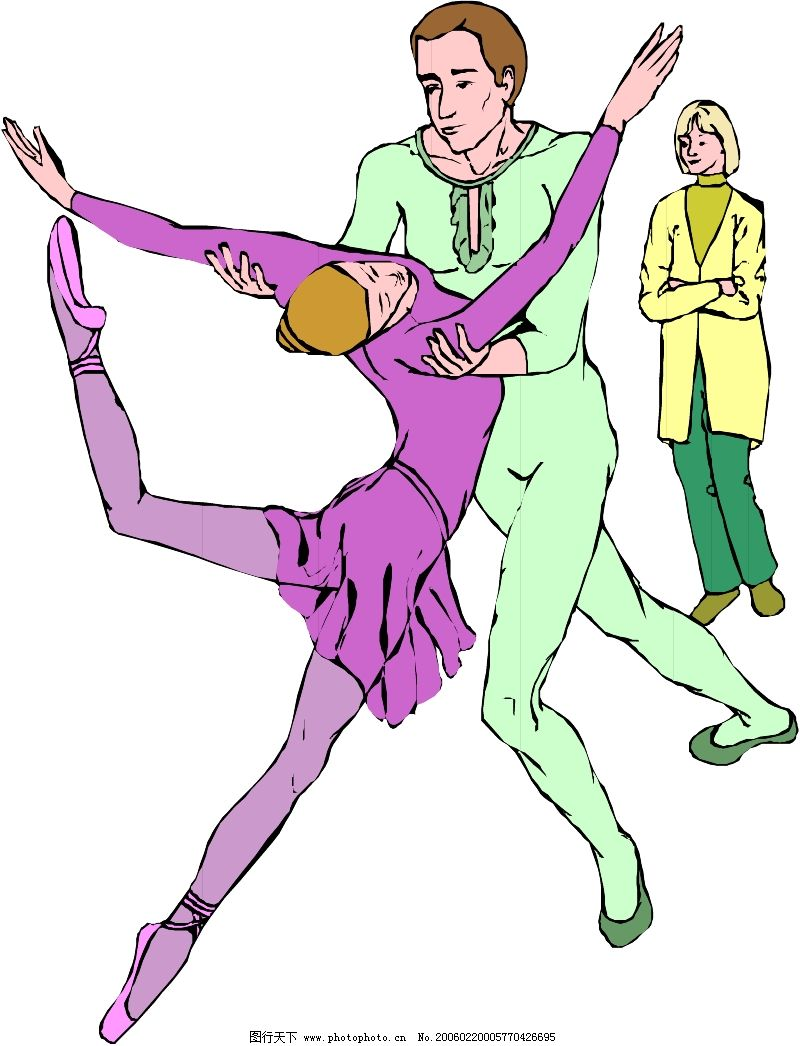 音乐与舞蹈0768_日常生活_矢量图_图行天下图库