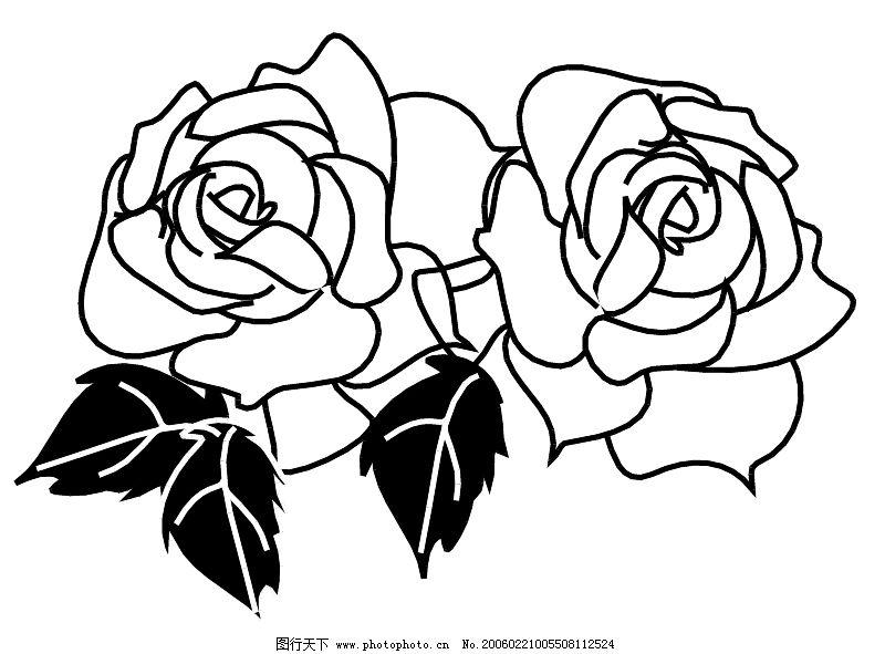 鲜花的画法简笔画