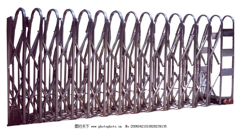 铁栅门0014_其他_装饰素材_图行天下图库